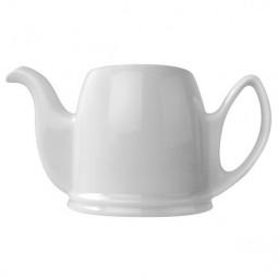 Чайник заварочный на 6 чашек без крышки 900 мл фарфор белый White GUY DEGRENNE \ 189948