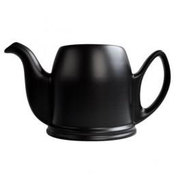 Чайник заварочный на 2 чашки без крышки фарфор черный Mat Black GUY DEGRENNE \ 150450