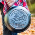 Чугунная сковорода круглая Wildlife Series Duck 20 см Lodge \ L5SKWLDK