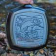 Чугунная сковорода-гриль квадратная Wildlife Series Fish 26 см Lodge \ L8SGPWLFI