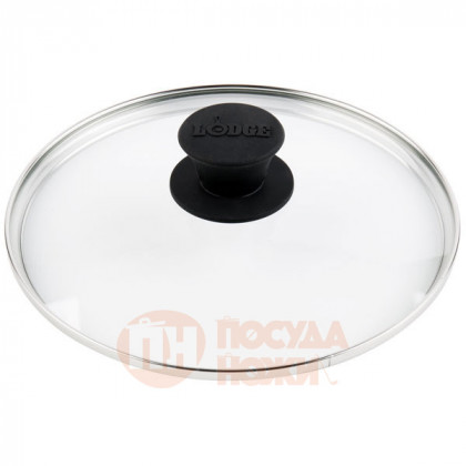 Крышка круглая 26 см стекло Lodge \ GL10