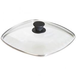 Крышка квадратная 26 см стекло Lodge \ GLSQ10