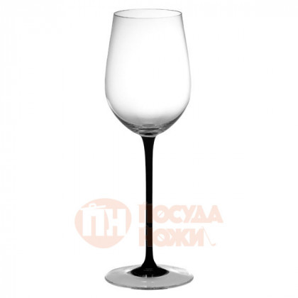 Хрустальный бокал для вина Mature Bordeaux ручной работы 350 мл/черный Sommeliers Black Tie Riedel \ 4100/0