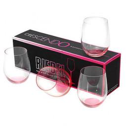 Набор их 4-х хрустальных бокалов Crescendo 320 мл/розовый Gift Sets Riedel \ 5414/55