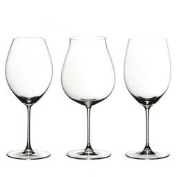 Набор из 3-х хрустальных бокалов для красного вина Veritas Riedel \ 5449/74