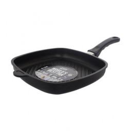 Сковорода-гриль  квадратная индукционная AMT Gastroguss 20x20 см.\ AMT I-205GFIX