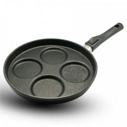 Сковорода BAF GIGANT  Newline   INDUCTION для яиц со съёмной ручкой 26см \ 5001 08 26 0-I