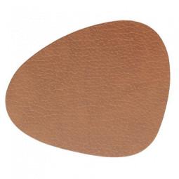 Подставка под стаканы из натуральной кожи 11*13 см LindDNA BULL фигурная цвет коричневый \ LD-9852