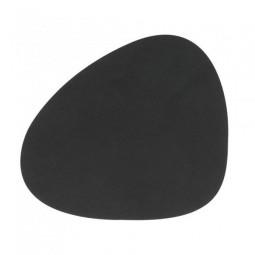Подставка под стаканы LIND DNA фигурная 11x13 см толщина 16 мм NUPO black \ 981797