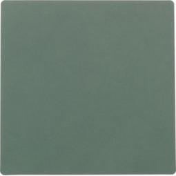 Подставка под стаканы LIND DNA квадратная 10x10 см толщина 16 мм NUPO pastel green \ 981803