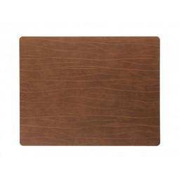 Сервировочная салфетка из натуральной кожи 35*45 см LindDNA BUFFALO прямоугольная цвет коричневый \ LD-98895