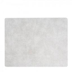 Сервировочная салфетка из натуральной кожи 35*45 см LindDNA HIPPO прямоугольная цвет серый \ LD-98935
