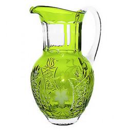 Хрустальный кувшин 1.2 л светло-зеленый Grape Ajka Crystal \ reseda/64571/51380/48359