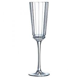 Набор хрустальных фужеров для шампанского 6 пр. Macassar Cristal d'Arques Paris \ L6588