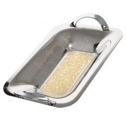 Поднос для хлеба с ручками Dubai Gold Giorinox \ 28866