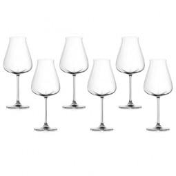 Набор хрустальных бокалов для красного вина 6 пр. Desire Lucaris \ 3LS10RR2506G0000