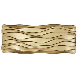 Хрустальной блюдо прямоугольное 40 см золотой Sahara Nachtmann \ 85221