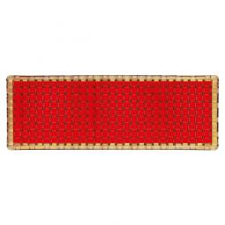 Хрустальное блюдо прямоугольное 42 см красный Bossa Nova Nachtmann \ 84844