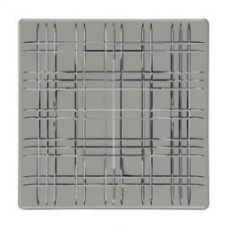 Хрустальное блюдо квадратное 28 см дымчато-серый Square Nachtmann \ 101451