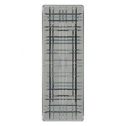 Хрустальное блюдо прямоугольное 28 х 14 см дымчато-серый Square Nachtmann \ 101452