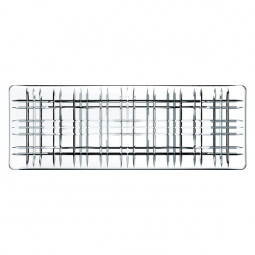 Хрустальное блюдо прямоугольное 42 х 15 см Square Nachtmann \ 101048