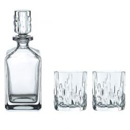 Набор для виски из 2-х хрустальных стаканов и штофа Shu Fa Nachtmann \ 101040