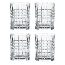 Набор хрустальных стаканов для виски 4 пр. Square Nachtmann \ 101050