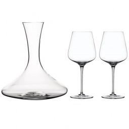 Набор для вина из 2-х хрустальных бокалов и декантера Vinova Nachtmann \ 101200