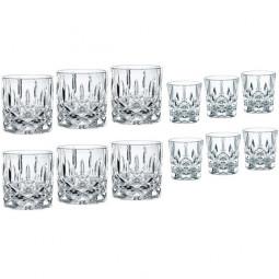 Набор хрустальных стаканов и стопок 12 пр. Noblesse Nachtmann \ 102390