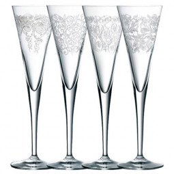 Набор хрустальных бокалов для шампанского 4 пр. Delight Nachtmann \ 86580
