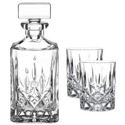 Набор для виски из 2-х хрустальных стаканов и штофа Noblesse Nachtmann \ 91899