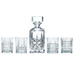Набор для виски из хрустальных стаканов и штофа 5 пр. 98196 Highland Nachtmann