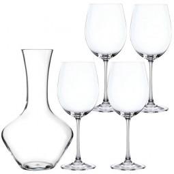 Набор для красного вина из хрустальных бокалов и декантера 5 пр. Vivendi Nachtmann \ 93605