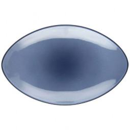 Блюдо овальное 35 см Cirrus Blue Equinoxe Revol \ 649556