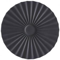 Керамическое блюдце 14 см черный Pekoe Revol \ 653630