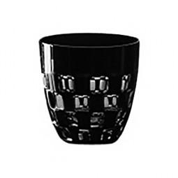Хрустальная стопка для ликера ручной работы 0.07 л черный Domino Ajka Crystal \ 1/65687/51465/48525