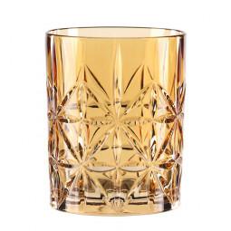 Хрустальный стакан для виски 0.34 л оранжевый Highland Nachtmann \ 97441