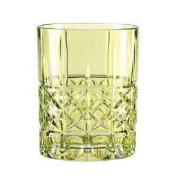 Хрустальный стакан для виски 0.34 л зеленый Highland Nachtmann \ 97444