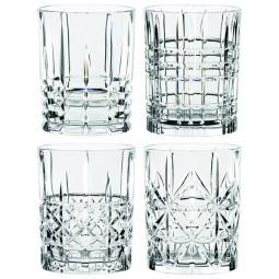 Набор хрустальных стаканов для виски 4 пр. 0.34 л Highland Nachtmann \ 95906