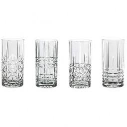 Набор хрустальных стаканов для виски 4 пр. 0.44 л Highland Nachtmann \ 97784