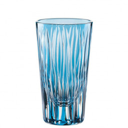 Набор хрустальных стопок 2 пр. 0.06 л голубой Sixties Lines Nachtmann \  88872