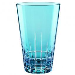 Набор хрустальных  стаканов для коктейлей 2 пр. 0.45 л голубой Sixties Stella Nachtmann \ 88926