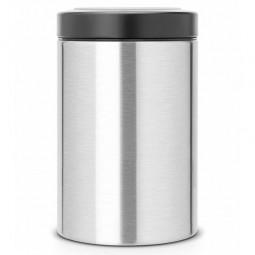 Контейнер с прозрачной крышкой 1.4 л нержавеющая сталь Brabantia \ 485565
