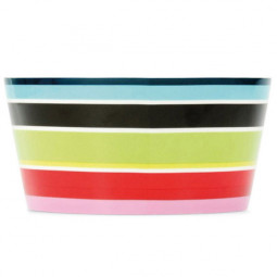 Салатник 13.1 см декор Stripy Remember \ MB02