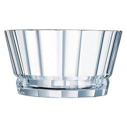 Хрустальный салатник 22.5 см Macassar Cristal d'Arques Paris \ L8168