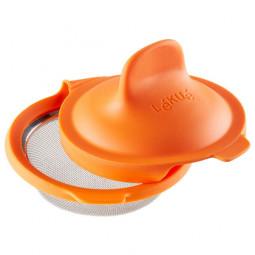 Форма Пашотница 11 см силикон/нержавеющая сталь оранжевый Lekue \ 3402900N07U008