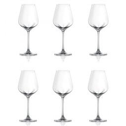 Набор хрустальных бокалов для вина 6 пр. 0.42 л Desire Lucaris \ 3LS10US1506G0000