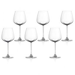 Набор хрустальных бокалов для белого вина 6 пр. 0.49 л Desire Lucaris \ 3LS10RW1706G0000