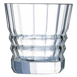 Набор хрустальных низких стаканов 6 пр. 0.32 л Architecte Cristal d'Arques Paris \ L6695