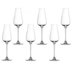 Набор хрустальных бокалов для шампанского 6 пр. 0.24 л Desire Lucaris \ 3LS10SL0806G0000
